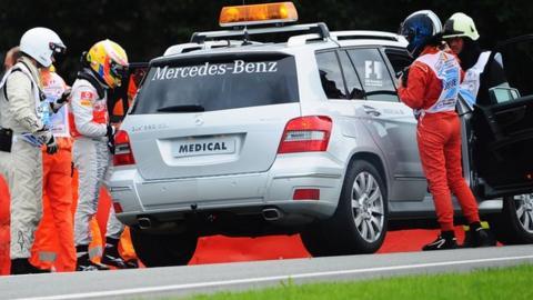 Formula 1 medical car