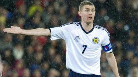 Scotland captain Darren Fletcher will not play again this season