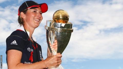 England women's cricket captain Charlotte Edwards