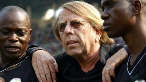 DR Congo coach Claude LeRoy