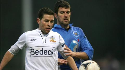 Eddie McCallion and Steve Feeney