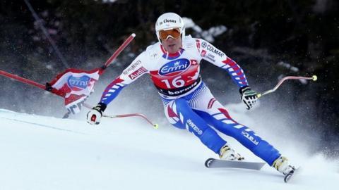 French downhill skier Johan Clarey