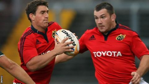 Ian Keatley and Damien Varley