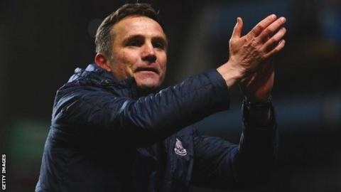 Bradford manager Phil Parkinson