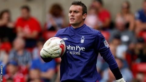 Nottingham Forest and Northern Ireland goalkeeper Lee Camp