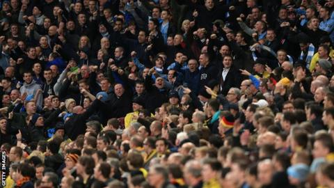 Manchester City's supporters