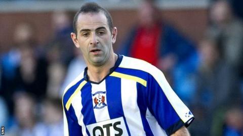 New Dundee signing Gary Harkins