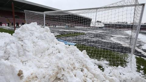 Snow at Northampton