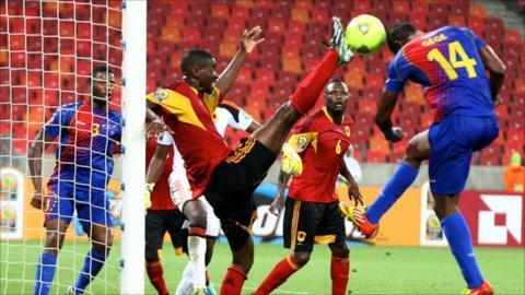 Cape Verde v Angola