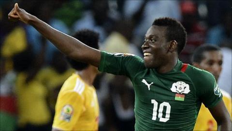 Burkinabe coach Put lauds Traore - BBC Sport