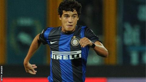 hot sale online 3a98f e0a4a Philippe Coutinho: Liverpool sign Inter Milan midfielder ...