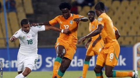 Ivory Coast Vs Algeria