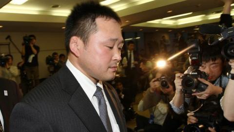 Japan women's judo head coach Ryuji Sonoda