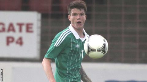 Northern Ireland U21 player Liam McAlinden