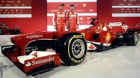 Ferrari F138 car