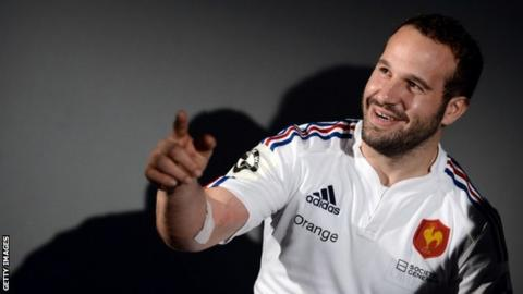 France stand-off Frederic Michalak