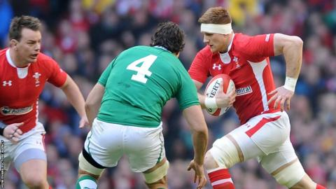 Wales debutant Andrew Coombs takes on Ireland's Mike McCarthy as the Six Nations championship kicks off in Cardiff.