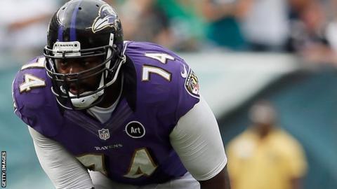 Baltimore Ravens Michael Oher