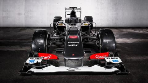 The new Ferrari-powered Sauber C32