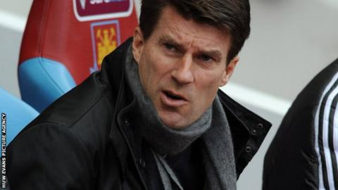 Swansea manager Michael Laudrup