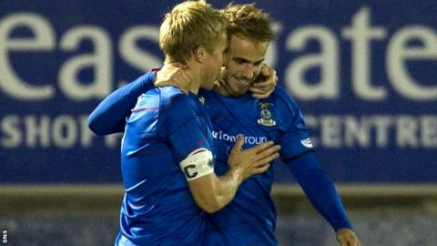 Richie Foran and Andrew Shinie are key players for Inverness