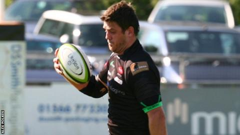 Ben Hilton scored one of Launceston's tries