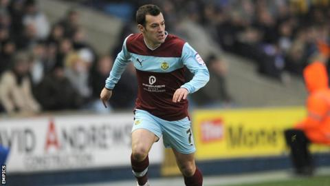 Burnley winger Ross Wallace