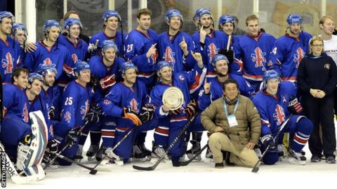2014 Winter Olympics  GB ice hockey ready for qualifiers - BBC Sport 92125076e