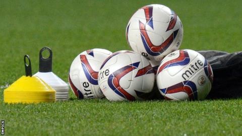 Crawley Town training balls