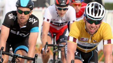British cyclist Mark Cavendish