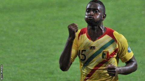Mali striker Mahamadou Samassa