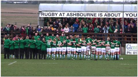 Women's Irish rugby team