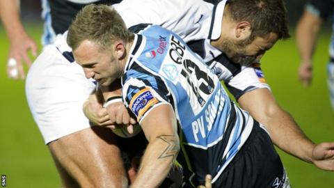 Byron McGuigan scored two tries for Glasgow in Italy