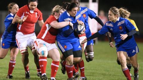 France Women 32-0 Wales Women
