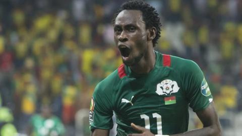 Burkina Faso winger Jonathan Pitroipa