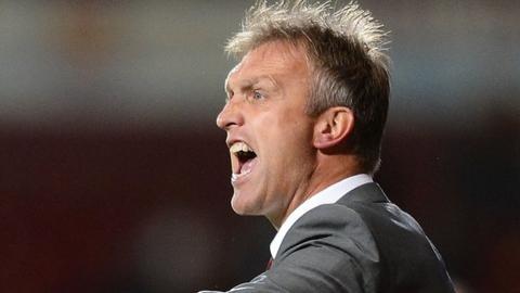 Crewe boss Steve Davis