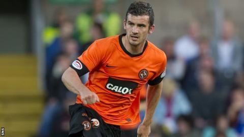Dundee United defender Gavin Gunning