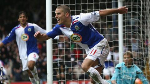 5a8ae4c0c David Bentley  Blackburn Rovers return for Tottenham winger - BBC Sport