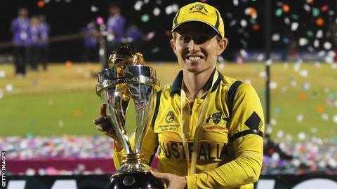 Australia captain Jodie Fields