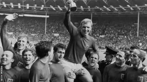 West Ham and England's Bobby Moore