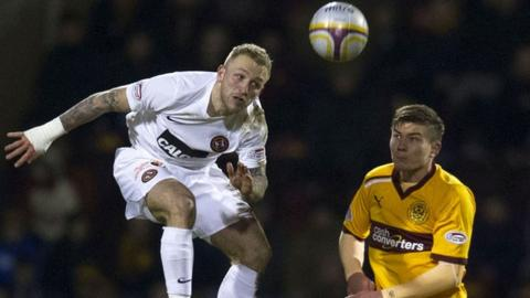 Johnny Russell and Shaun Hutchinson