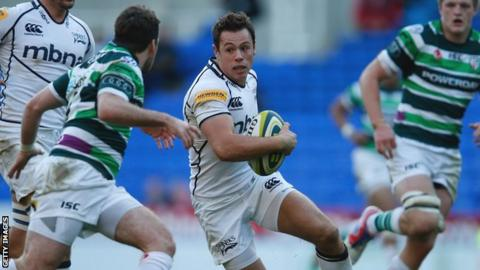 Sale Sharks full-back Rob Miller
