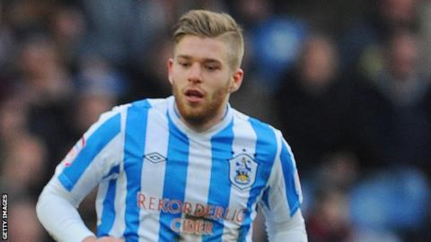 Huddersfield Town's Adam Clayton