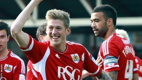 Bristol City's Jonathan Stead