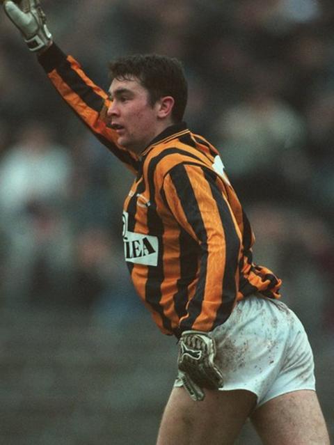 Oisin McConville in action for Crossmaglen Rangers in December 1996