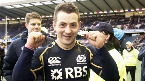 Scotland scrum-half Greig Laidlaw