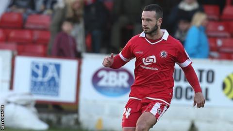 Accrington Stanley full-back Lee Molyneux