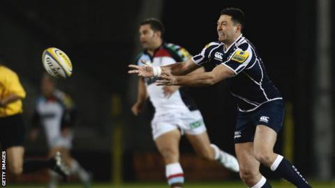 Sale Sharks full-back Cameron Shepherd