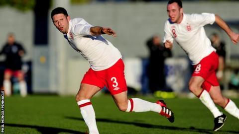Jersey's England celebrate