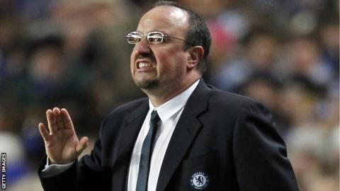 Image result for rafa benitez chelsea